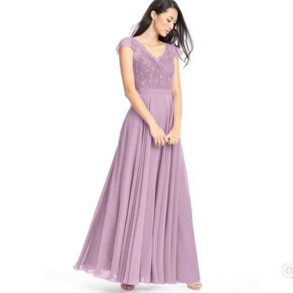 c3bdb2711 Azazie Dresses & Skirts - 💟 Azazie Cheryl Chiffon Dress
